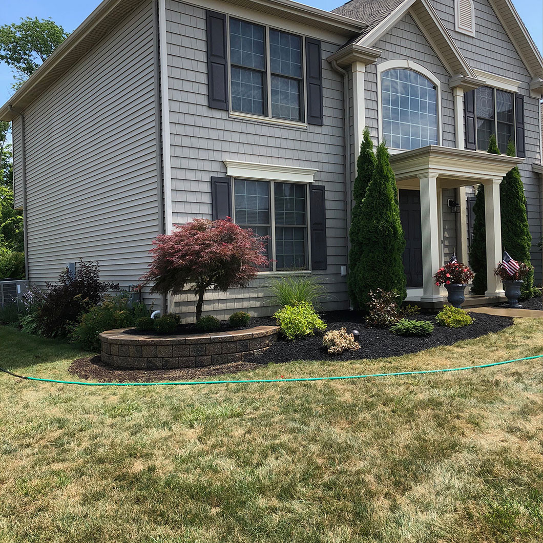 A well-kept lawn increases the value of your property